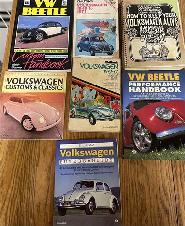 Miscellaneous VW Books and Guides