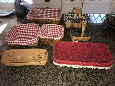 Longaberger and Heritage Mint LTD Baskets plus others
