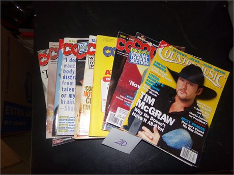 Country Magazines Lot