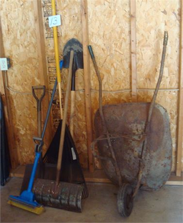 Garage Tool Clean Out