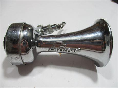 "Vintage 4"" metal Chrome Falcon Vehicle Air Horn"