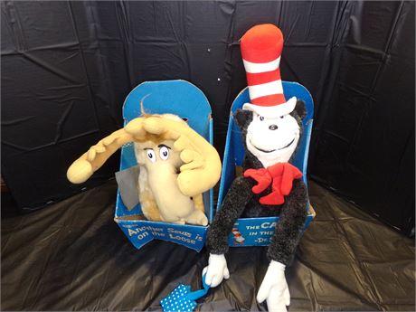Dr Seuss Stuffed animals