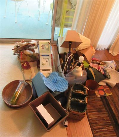 Lamps & Misc Decor Clean Out
