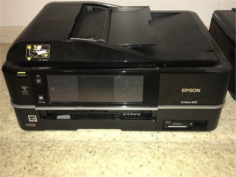 Epson Artisan 835 Printer with WiFi - As Shown