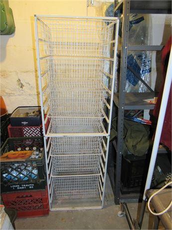 Wire Rack Storage Unit