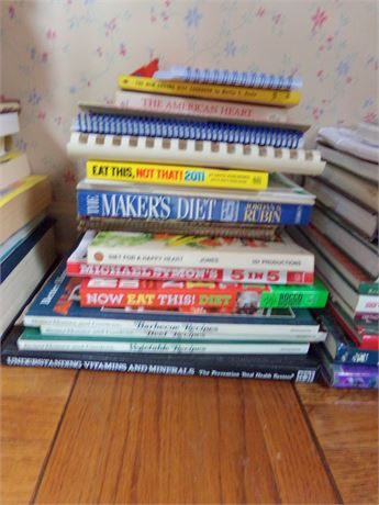 Recipes and Diet Books