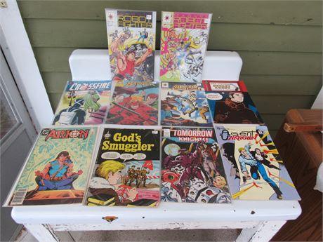 Comic Book Lot: Robo Fighter