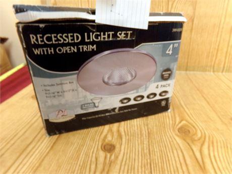 Recessed Lighting 4 pack