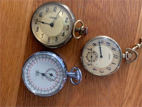 Pocket Watch Lot