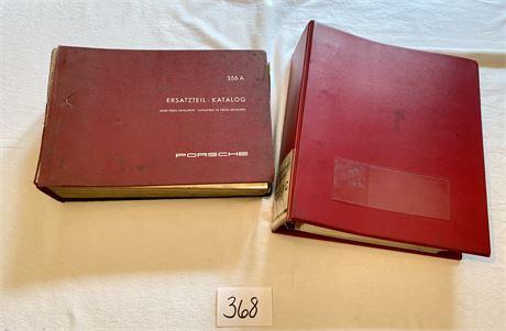 356 A Parts Book & Factory OEM Reprint B/C Workshop Manual