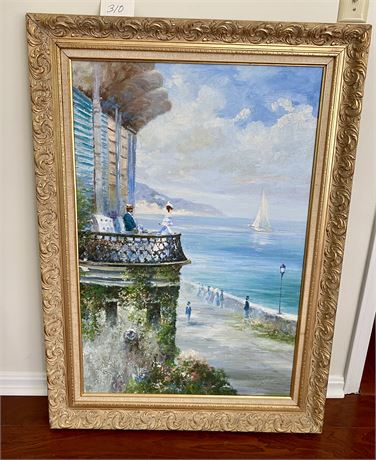 Original Framed Oil on Canvas by Howard Kimble - Late 19th/Early 20th Century