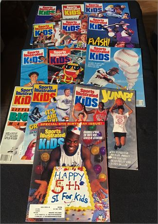 Collectible Sports Illustrated For Kids Magazines