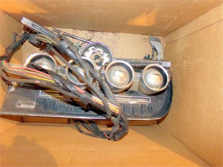 Vintage Car Parts- Dashboard