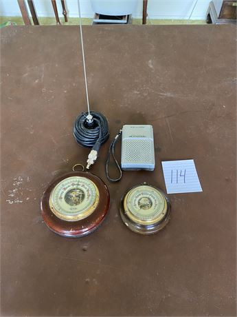 Vintage Weather Tools and Antenna Lot