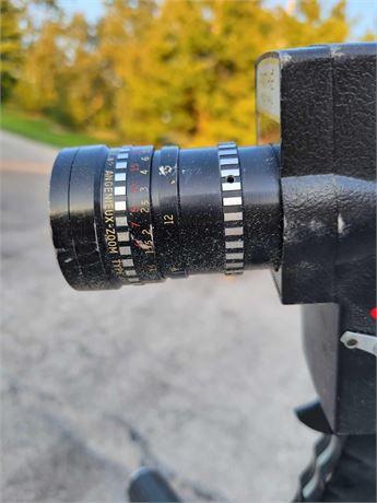 Topcon 135mm Lens Pathe Royal Video Camera