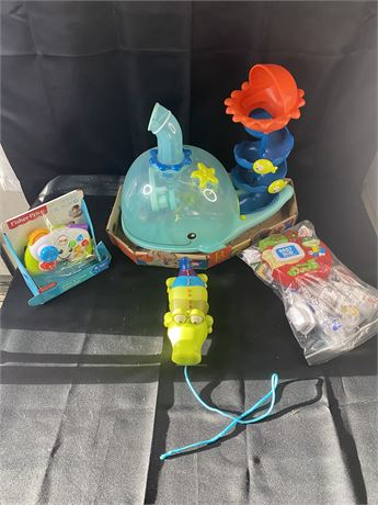 Lot of infant/toddler toys. 4 items. All name brand.