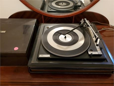The Fisher by BSR C-20 Turntable