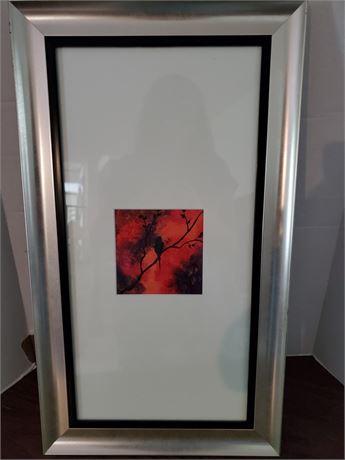 Framed Acrylic Painting on Canvas