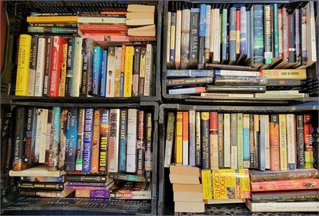 4 Crates of Books