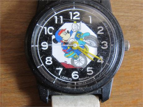 Vintage Mickey Mouse Lorus Watch