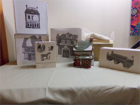 Dept. 56- Heritage Village Collection- Dickens' Village Collection