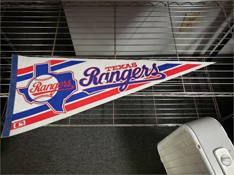 Texas Rangers Pennant
