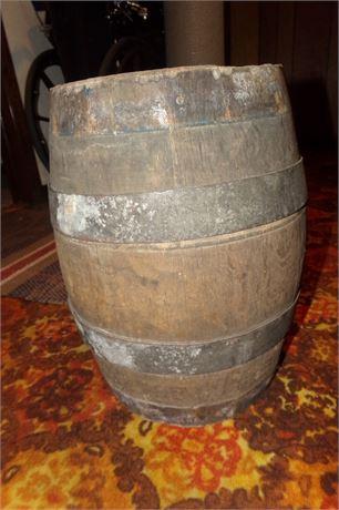 Fort Pitt Brewery Barrel
