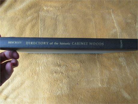 Directory of the Historic Cabinets. hardback NO DJ