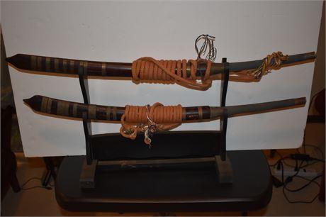 Vintage Samurai swords-1950's