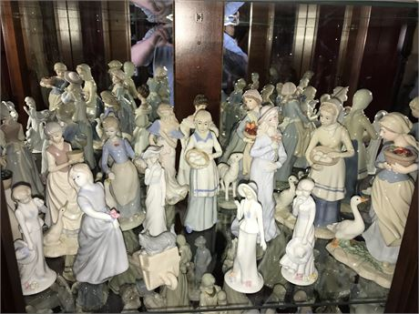 Porcelain Figurine Lot (16)