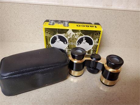 Vintage Tasco Opera Glasses w/Box