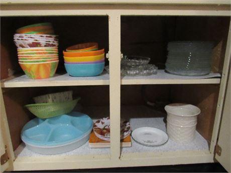 Cupboard Clean Out - Glass, Ceramic & Plasticware