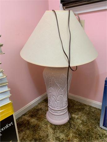 STYLECRAFT POTTERY LAMP