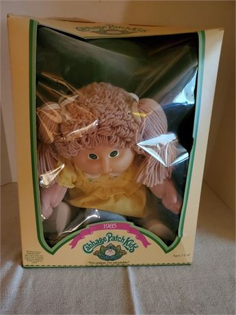 Vintage Cabbage Patch Doll 1985 Andrea Trish