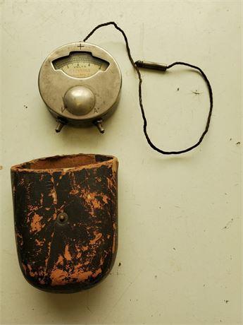 Antique Sterling Mfg. Co. Pocket Voltmeter