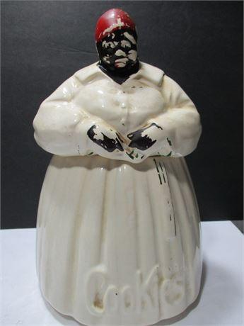Rare Vintage 1950's McCoy Aunt Jemima Ceramic Cookie Jar