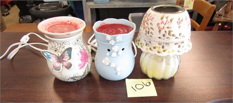 Scentsy Wax Warmer and Candle Shade