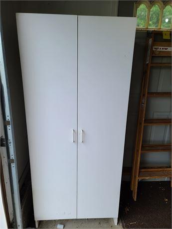 White Storage Cabinet