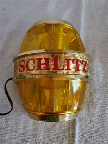 Vintage Schlitz Beer Bar Light