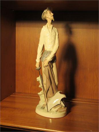Lladro Don Quixote Figurine