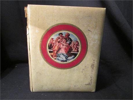 Vintage 1969 Michael Angelo King James Edition Family Holy Bible