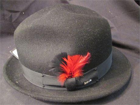 New Genuine Bailey of Hollywood  Black Derby Bowler Hat XXL