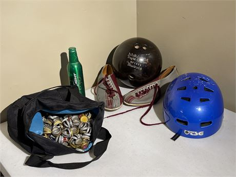 Sporting Goods and Collector's Lot - see description