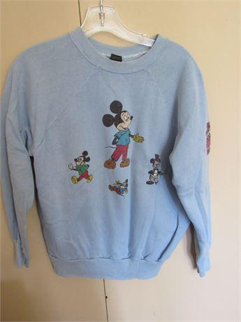 1970s Mickey Mouse Sweatshirt, Ladies or Kids