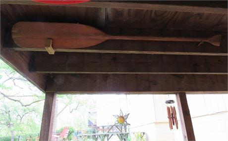 Canoe Paddle - Wood
