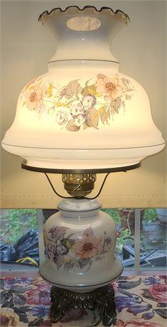 Flower Glass Lamp