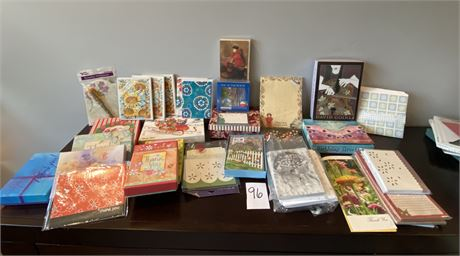 Huge Note Cards and Notepads Lot