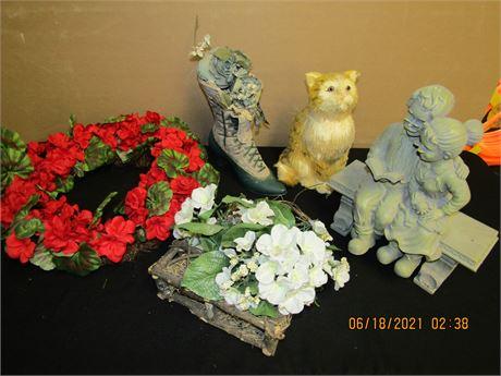 Floral and Garden Decor