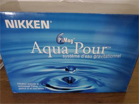 Nikken PiMag Aqua Pour Gravity Water System
