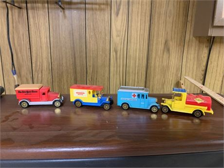 TOY TRUCK CLEAN OUT